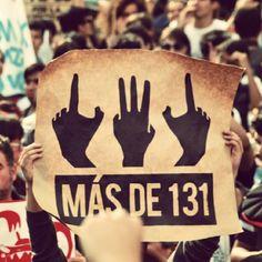 Más de 131  #yosoy132