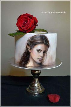 Cupcakes disney fondant cake tutorial 39 ideas for 2019 Cake Icing, Fondant Cakes, Eat Cake, Cupcake Cakes, Cupcakes, Gorgeous Cakes, Pretty Cakes, Fondant Cake Tutorial, Hand Painted Cakes