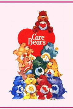 Care bears  Kinda ashamed it took me this long to remember to pin this to this board.