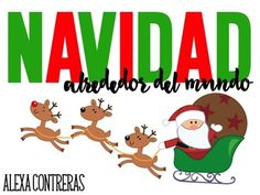 Estas actividades son perfectas para aprender todo acerca de la Navidad en México, Alemania, Italia, Francia y Estados Unidos.