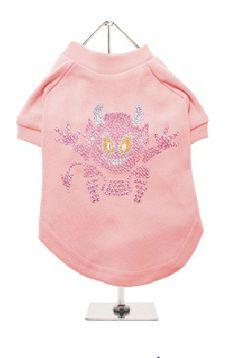 Girl: Little Devil GlamourGlitz Dog T-Shirt