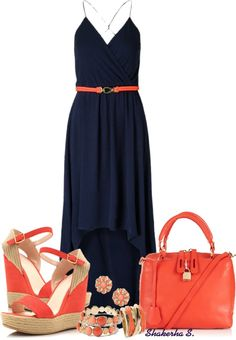 """""""Hi-Low Dress"""" by shakerhaallen ❤ liked on Polyvore"""