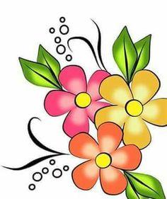 Cartoon Flowers Collection 3 แต งห อง Pinterest Cartoon
