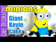 Giant Kevin Minion Cake Video Tutorial | Ashlee Marie