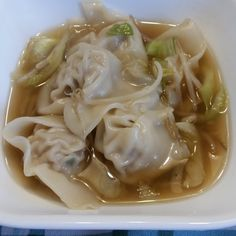 I love Won Ton soup. When I have it out at Chinese restaurant though, I'm usually disappointed with the amount of vegetables in the broth. S...