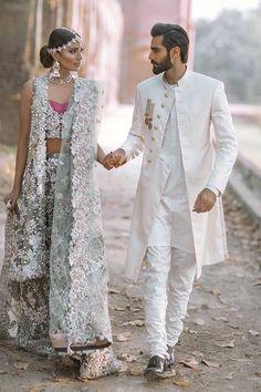 "My Pakistani wedding inspirations: lipstick-bullet: ""The Jasmine Court"" by Elan. Wedding Dresses Men Indian, Wedding Dress Men, Bridal Dresses, Wedding Bride, Pakistani Couture, Pakistani Bridal, Pakistani Dresses, Dulhan Dress, Indian Men Fashion"