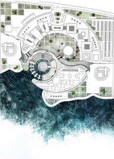 Landscape Architecture Presentation Plan Autocad Ideas - Landscape Architecture Presentation PYou can find Pavilion and more on our website. Hotel Design Architecture, Landscape Architecture Model, Landscape Architecture Drawing, Landscape Design Plans, Architecture Board, Concept Architecture, Organic Architecture, Landscaping Design, Ancient Architecture