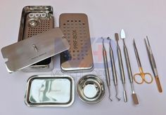 PRF and GRF Box Platelet Rich Fibrin Dental Implant Instruments 9 Pieces Set #MD