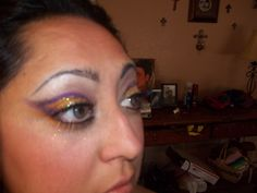 Halloween make up :) by Geneva Lobato-Mitchell
