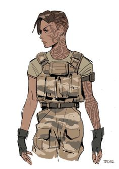 41 ideas concept art girl post apocalyptic for 2019 Female Character Design, Character Design References, Character Drawing, Character Concept, Concept Art, Dnd Characters, Fantasy Characters, Female Characters, Fictional Characters