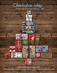 Wrapping a gift will be more fun than receiving one this year, with the customizable designs in our 2015 catalog.