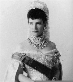 The jewels of Maria Feodorovna Romanova, wife to Tsar Alexander III and mother of Tsar Nicholas II.