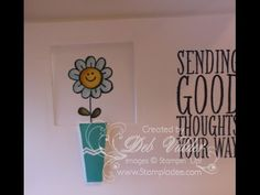 How to Create a Pop-up Peek-a-Boo Card (video tutorial included).  In Canada, get Stampin' Up! at http://tracyelsom.stampinup.net