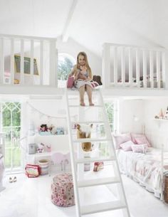 Dream bedroom for girls- wish i had that but hope for my kid in futur