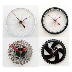 Decoração e Projetos 11 ideias de decoração com rodas de bicicleta