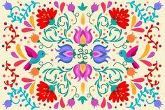 Art Journal Fondos, Art Journal Backgrounds, Mandala Art, Mandala Drawing, Folk Art Flowers, Flower Art, Watercolor Pattern, Watercolor Print, Colorful Wallpaper