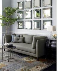 Зеркало в интерьере гостиной: советы, идеи, фото — Своими руками