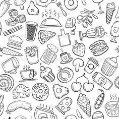 Afbeeldingsresultaat voor leuk eten om te tekenen