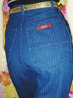 ZENA jeans...whatever made me think I looked good in them?