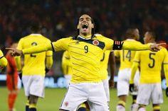 Nueva Camiseta de FALCAO del Colombia Primera por Mundo 2014