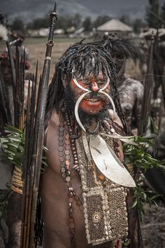 Tribal Chief by Roberto Pazzi Photography on 500px,Dani warrior in Wosilimo (Papua, Indonesia).