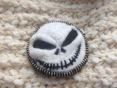 Brooches – Halloween Brooch, Jack Brooch, Halloween ornaments – a unique product by GiftsHandmadeShop on DaWanda