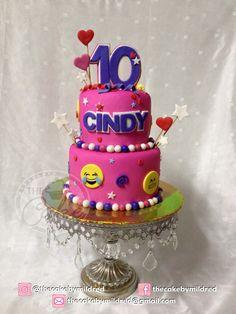 Emoticons Cakes