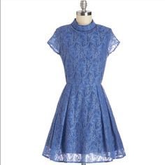 Chicory Dickory Doc Dress From Modcloth Large  Purchased last year for a wedding I was a bridesmaid in. Super cute and in perfect condition. U.K. Size 12 which is a 10 and runs true to size. ModCloth Dresses