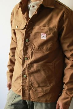 Pointer brand duck chore jacket.