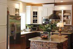 how i grew my upper kitchen cabinets, kitchen cabinets, kitchen design, After kitchen