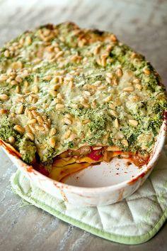 lichtjes-geniale-lasagna-met-5-groenten Wat heb je nodig? 1 aubergine 1 bokaal…