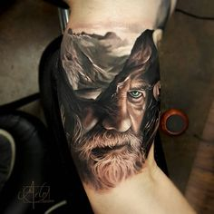 Realistic Tattoo by Arlo
