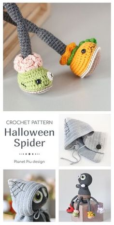 Crochet Bird Patterns, Crochet Giraffe Pattern, Halloween Crochet Patterns, Crochet Patterns Amigurumi, Crochet Stitches, Knitting Patterns, Crochet Fall, Holiday Crochet, Cute Crochet