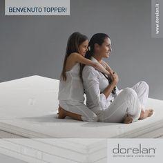 Il Topper è un sottile materassino imbottito che puoi posizionare fra materasso e coprimaterasso, per accrescere, portare all'eccellenza e personalizzare al massimo il comfort di riposo offerto dal tuo letto.   #Topper #Dorelan #riposo #comfort #accoglienza #benessere #dormirebene #viveremeglio