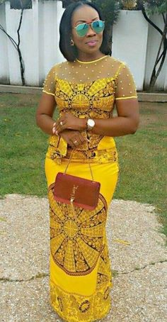 12b381bf0462 latest Ankara shirt and blouse styles - Reny styles African Print Dresses,  African Dress,