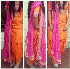 Get this salwar suit designed at nivetas design studio whatsapp Punjabi Girls, Punjabi Dress, Punjabi Suits, Pakistani Dresses, Indian Dresses, Punjabi Bride, Indian Look, Indian Ethnic Wear, Ethnic Suit