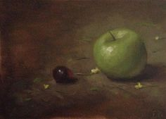 DPW  Original Fine Art Auction - Green Apple - © Frederick Bellavance