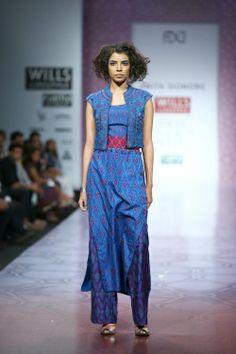 Fashion: Anita Dongre Show at Wills Lifestyle India Fashion Week 2014