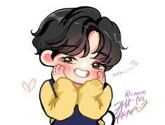 Bts Taehyung, Taehyung Fanart, Bts Chibi, Anime Chibi, Foto Bts, Bts Photo, Camisa Bts, Kpop Drawings, Dibujos Cute