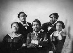 """The Kamehameha Royal Family"" aboriginal people of Hawaii"