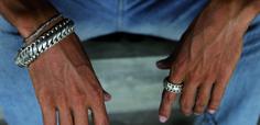 Mens sterling silver jewelry from Buddha to Buddha http://www.labelaware.com/mens/mens-jewelry/ mens-buddha-to-buddha-rings.jpg