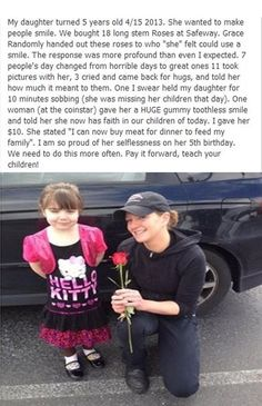 WOW! I really want to do this with my little girl (if i have one ;) ) someday!! God Bless those people!