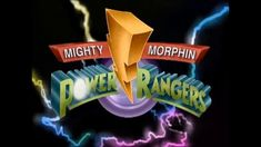 MMPR Logo Go Go Power Rangers, Mighty Morphin Power Rangers, Fan Fiction, My Memory, Childhood Memories, Picture Video, Tattoo Ideas, Nostalgia, Logo