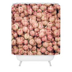 Catherine McDonald Flower Market 2 Shower Curtain | DENY Designs Home Accessories