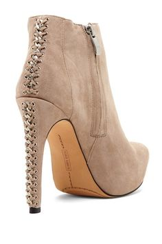 Cannon Leather Bootie -- Would also be beautiful in black or dark purple! and red too. <3