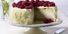 Raspberry And Champagne Truffle Cake