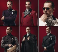 Gary Oldman - Prada Menswear Fall/Winter 2012-13 by David Sims. This look needs to catch on for men, stat!