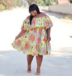 plus size Sexy short ankara gown styles with flare, trending sexy anakra gown styles, big and beautiful ladies short ankara gown styles with flare, off shoulder short ankara gown styles with flare African Men Fashion, Curvy Women Fashion, African Women, Plus Size Fashion, Ankara Fashion, Woman Fashion, Ankara Styles For Men, Ankara Gown Styles, Church Fashion