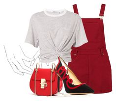 """""""Untitled #402"""" by sarahs884 ❤ liked on Polyvore featuring Boohoo, T By Alexander Wang and Charlotte Olympia"""