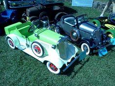 Packard pedal cars.